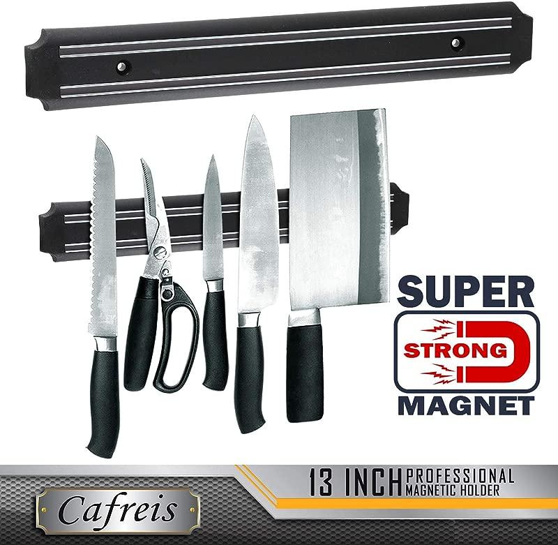 MAGNETO 13 Inch Plastic Magnetic Knife Bar Knife Holder Bar Magnetic Storage Rack Strip Magnetic Tool Organizer