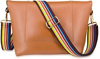 Wolven Adjustable Purse Strap Replacement Crossbody Shoulder Strap For Handbag Laptop Bag Etc - (Multicolor)