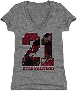 500 LEVEL Kyle Palmieri Women's Shirt - New Jersey Hockey Shirt for Women - Kyle Palmieri Game