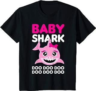 Kids Baby Cute Shark Gift for Girls - Doo Doo Doo T-Shirt