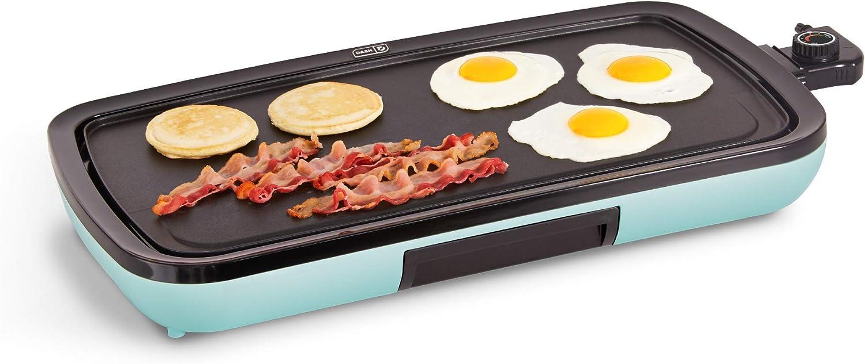 DASH メーカー在庫限り品 DEG200GBAQ01 Everyday Nonstick Pancake for Griddle 高級な Electric
