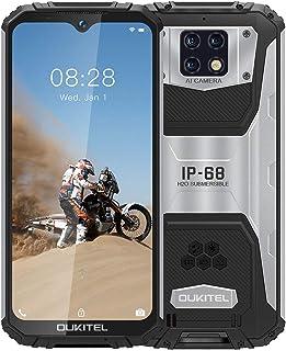 OUKITEL WP6 アウトドア スマートフォン、6.3インチFHD +携帯電話、10000 mAh IP68 スマホ simフリー 本体、48 MPクアッドカメラ、Helio P70オクタコアプロセッサー 6 GB + 128 GB And...