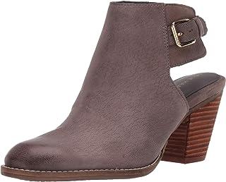 Cole Haan Women's Pippa Block Heel Bootie (70mm) Ankle Boot, Stormcloud Leather, 7