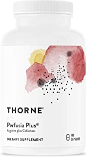 Thorne Research - Perfusia Plus - Sustained-Release L-Arginine Plus Cofactors to Support Heart Health, Nitric Oxide Produc...