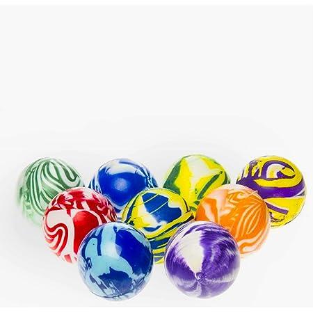 Flummi Groß Gummiball 1 Stück Bunt XL ca.60mm Spingball Dopsball