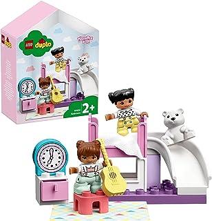LEGO DUPLO Miasteczko: Sypialnia 10926 — zestaw do zabawy w udawanie, rozwijająca zabawka dla małych dzieci, świetny sposó...