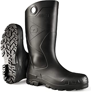 Dunlop Protective Footwear Dunlop 8677509 Chesapeake Boots, 100% Waterproof PVC, Lightweight and Durable Protective Footwear, Size 9