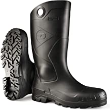 Dunlop 8677510 Chesapeake Boots, 100% Waterproof PVC, Lightweight and Durable Protective Footwear, Size 10