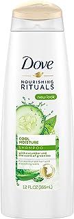 Dove Nutritive Solutions Shampoo, Cool Moisture 12 oz