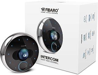 Fibaro Intercom/video-deurintercom, Full HD, 30 fps, 180 graden kijkhoek, infrarood en IP54, Fgic-002, zwart