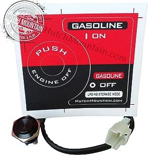 Hutch Mountain Bad Gas Ethanol Gummed Carb Eliminator Switch - Compatible with Honda Eu2000i Generator