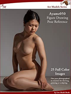 Art Models Ayame050: Figure Drawing Pose Reference (Art Models Poses)
