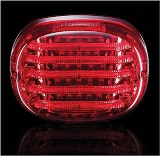 Custom Dynamics ProBEAM Squareback LED Taillight w/Window, Red PB-TL-SBW-R