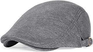 VOBOOM Men`s Cotton Flat Ivy Gatsby Newsboy Driving Hat Cap