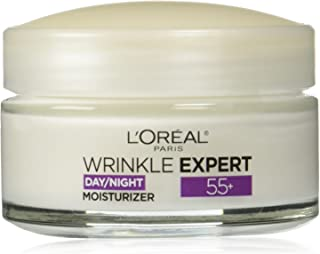 L'Oreal Paris Skincare Wrinkle Expert 55+ Anti-Aging Face Moisturizer with Calcium Non-Greasy Suitable for Sensitive Skin ...