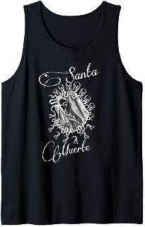 Scary Knight Clothing Santa Muerte Tattoo Tank Top