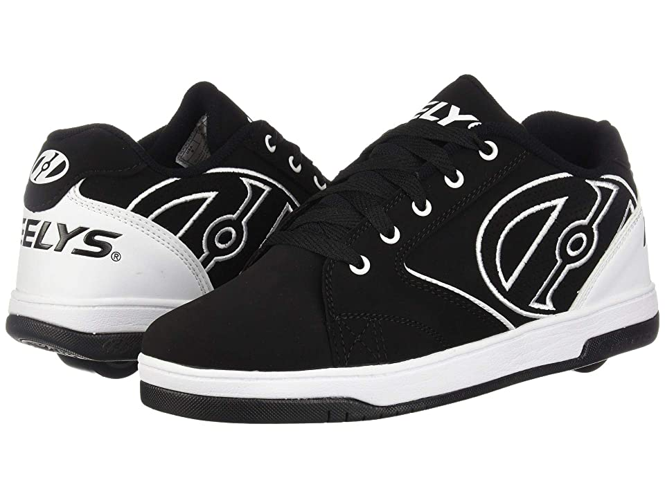 Heelys Propel 2.0 (Black/White/White) Boys Shoes
