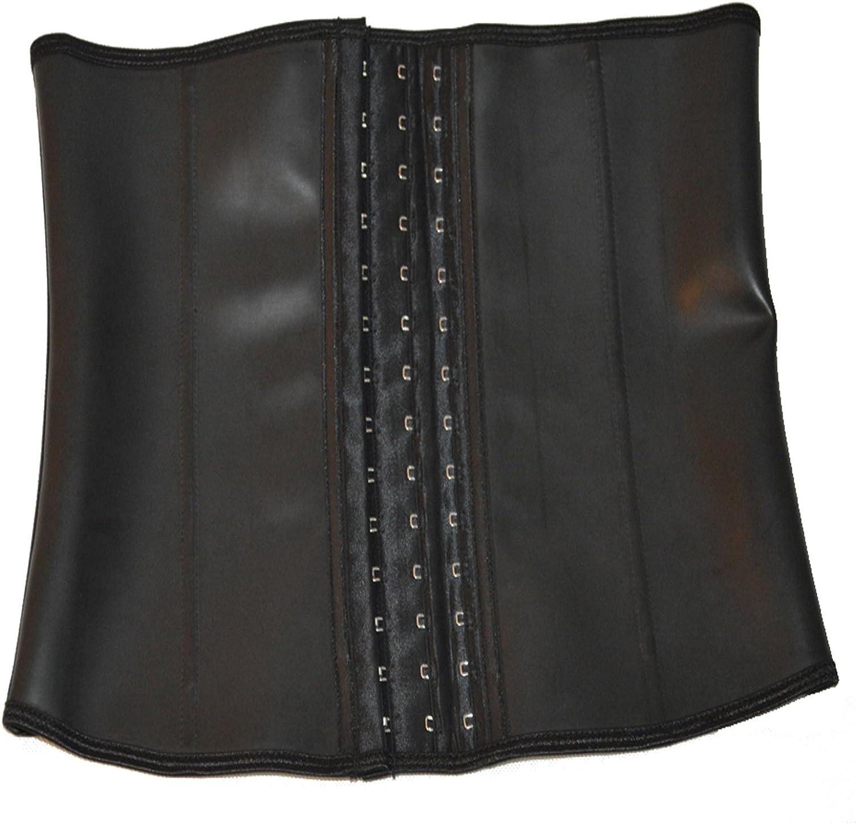 Queenral Manufacturer OFFicial shop Steel Boned outlet Male Slim Latex Belt Trainer Waist Corsets