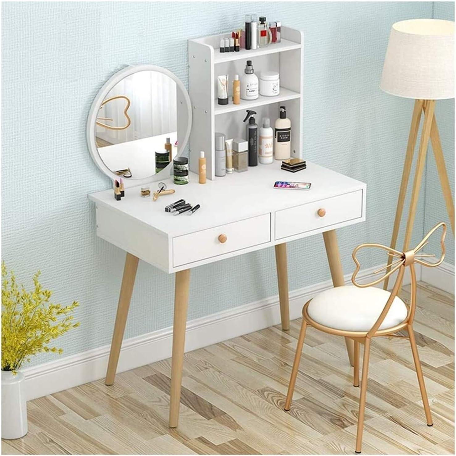 Cheap SALE Start LXYLXY Makeup Organizer Vanity Table Set Dressing 5 popular