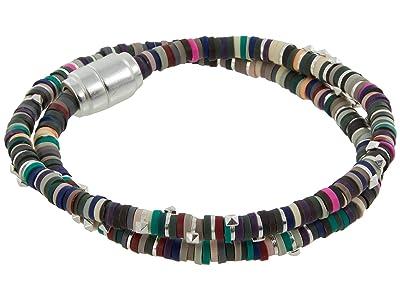 Kendra Scott Reece Wrap Bracelet (Bright Silver Neutral Mix) Bracelet