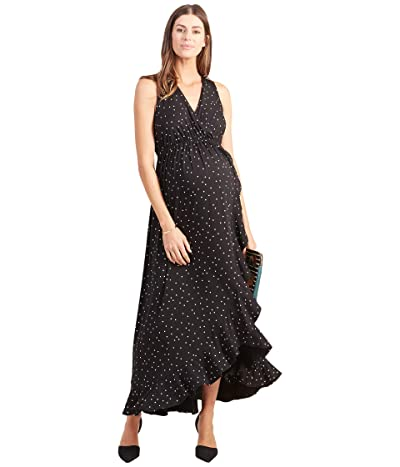 Ingrid & Isabel Maternity Racerback Ruffle Skirt Dress