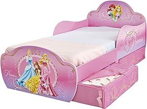 Disney Prinzessin - Kleinkinderbett mit Stauraum