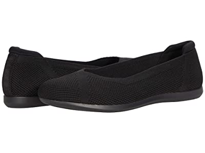Clarks Carly Wish (Black Knit) Women
