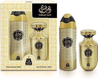 BAIT AL BAKHOOR Unisex Dahab Safi Eau De Perfume Spray, 100 ml + Deo, 200 ml Gift Set