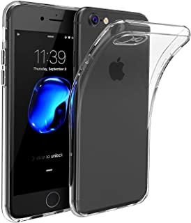 iPhone 8 / iPhone 7 Ultra Thin Transparent Clear TPU Silicone Gel Soft case Skin Cover with Free Screen Protector