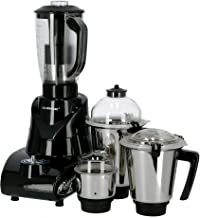 Olsenmark Mixer Grinder, 5 In 1 | 850W | Overload Protector | Sturdy Handles | 3 Speed Control with Incher