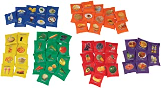 Sportime My Plate BeanBags, Set of 60, Assorted Colors - 1480097