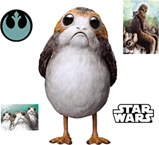 FATHEAD PORG-Star Wars: The Last Jedi-Large Officially Licensed Removable Wall Decal
