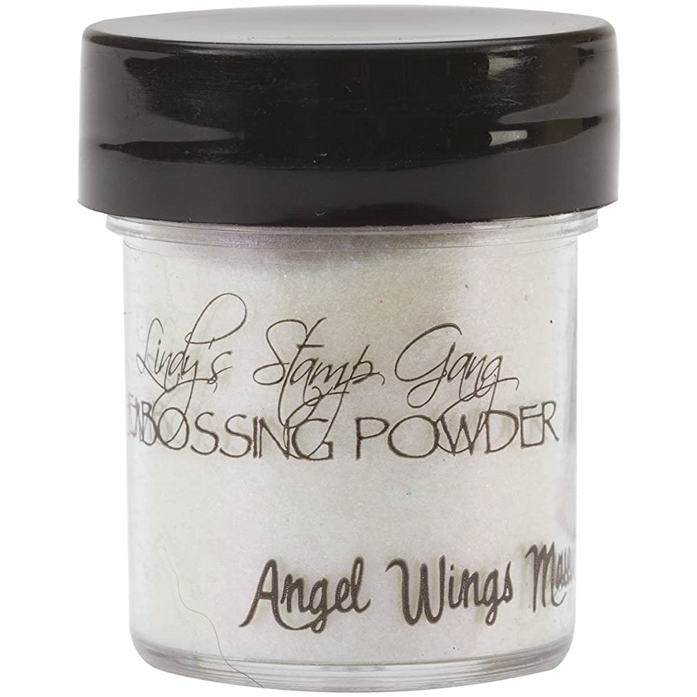 Lindy's Stamp Gang 2-Tone Embossing Powder, 0.5-Ounce Jar, Angel Wings Mauve