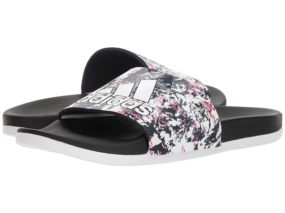 buy popular 4f7da f45d5 adidas Adilette Comfort (WhiteWhiteBlack) Women