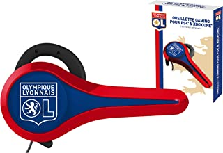 Subsonic Gaming Headset for PS4/Xbox One - OLYMPIQUE LYONNAIS Football Club PlayStation/Microsoft/Smartphones/Apple