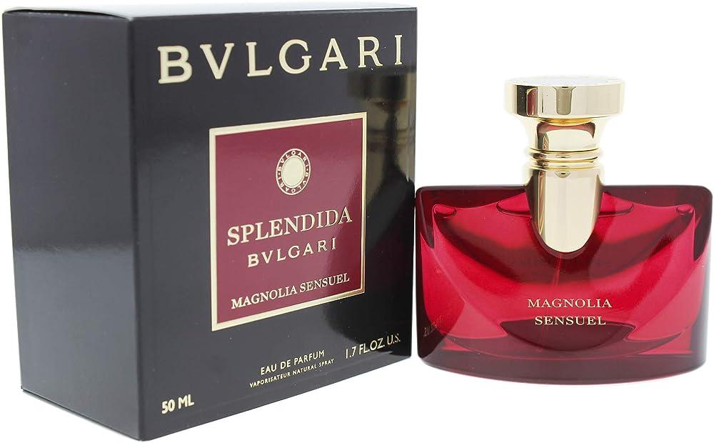Bvlgari splendida magnolia sensuel, eau de parfum da donna, 50 ml 2526297