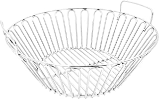 RunTo 13.5 inch Charcoal Ash Basket Fits for Large Big Green Egg Grill, Kamado Joe Classic, Pit Boss, Louisiana Grills,Primo Kamado Grill and Large BGE