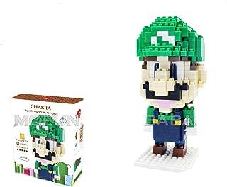 Chakra Game Super Mario Luigi Green DIY Diamond Mini Building Nano Block Toy(330)