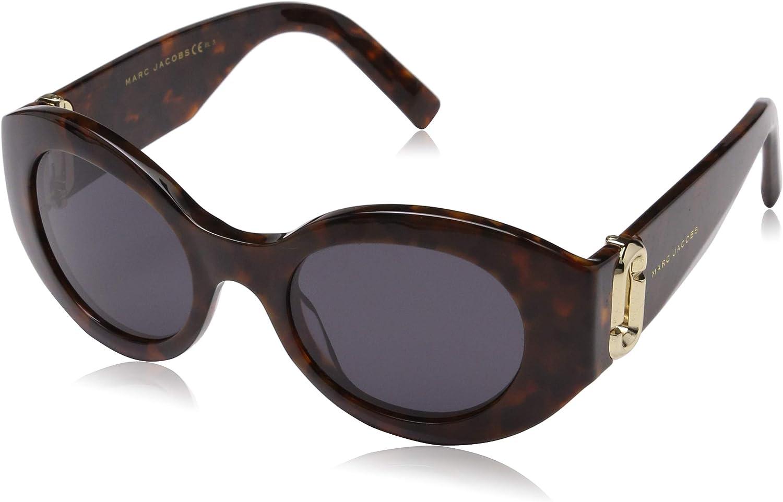 Marc Jacobs Women's Marc180s Polarized Oval Sunglasses HVN HONEY 49 mm