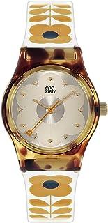 Orla Kiely damski analogowy analogowy zegarek kwarcowy z plastikowym paskiem OK2330