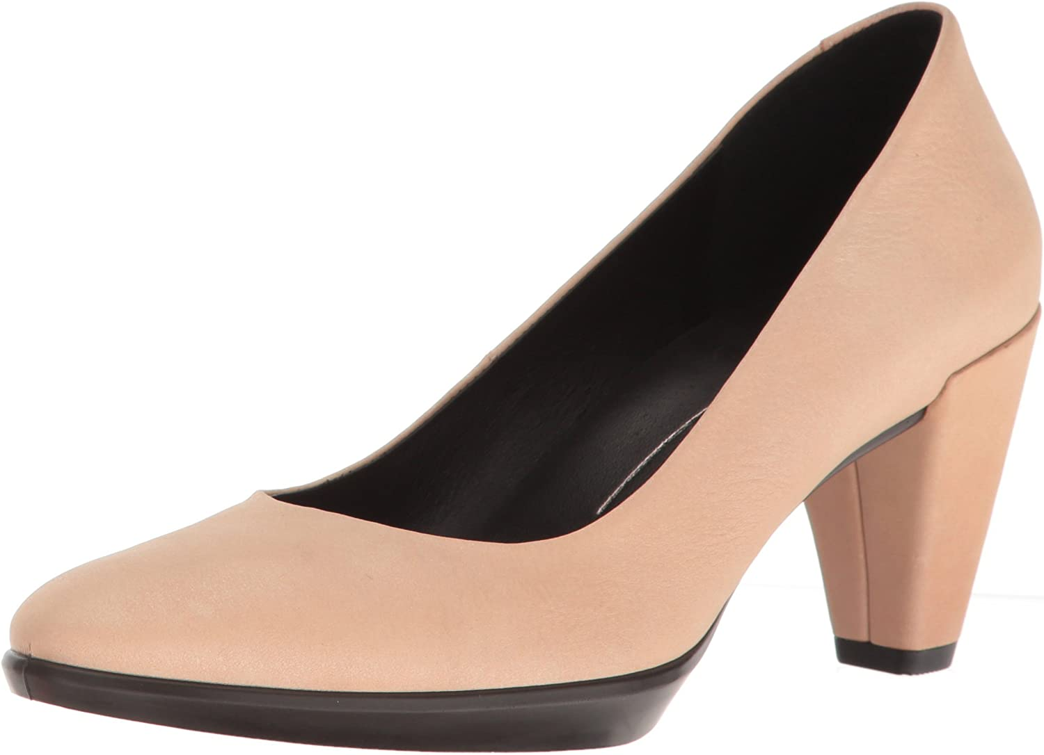 ECCO Womens Shape 55 Plateau Pump Dress Pump