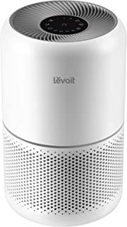 LEVOIT Luftrenare H13 HEPA luftfilter för allergiker, luftrensare mot 99,97 % av pollen dammrök, CADR 187 m³/h, upp till 4...