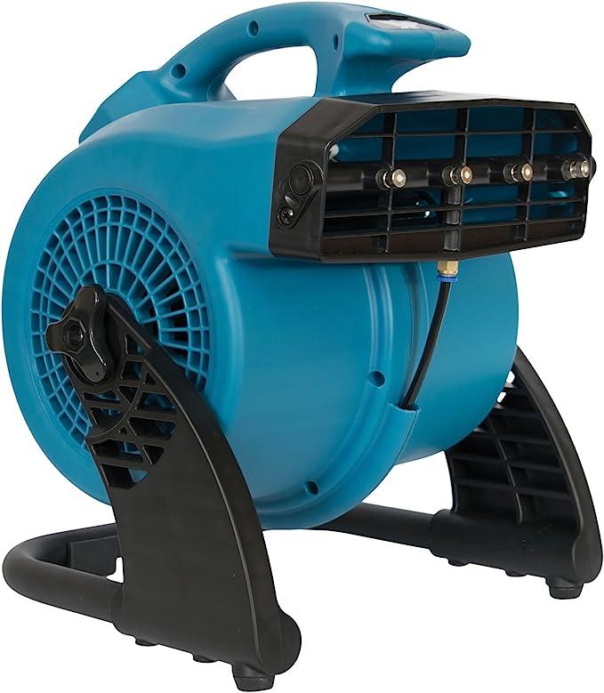 XPOWER FM-48 Heavy Duty 3-Speed Cooling Misting Fan – Best-Selling Misting Fan