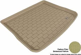 3D MAXpider Cargo Custom Fit All-Weather Floor Mat for Select Volkswagen Tiguan Models - Kagu Rubber (Tan)