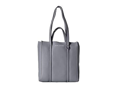 Marc Jacobs The Tag Tote (Rock Grey) Tote Handbags