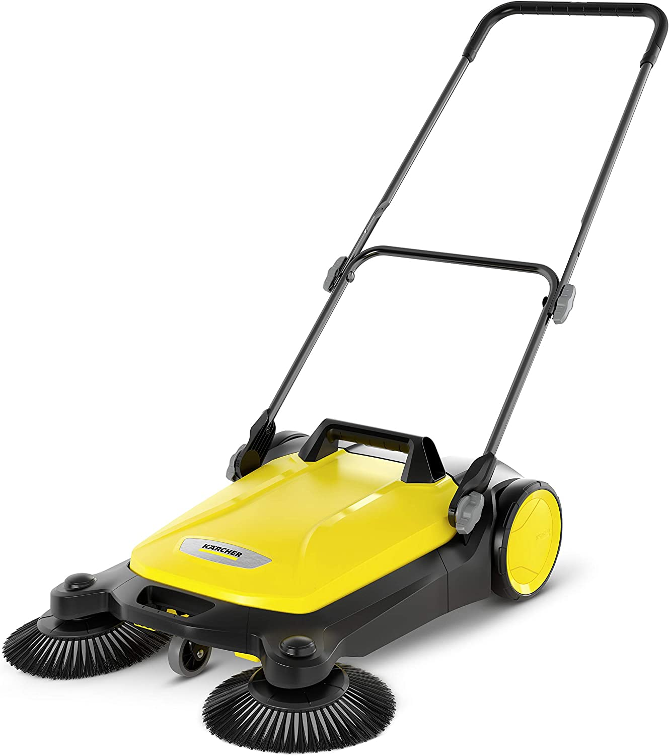 Karcher 17663610 S Year-end gift 4 Twin Mail order cheap Yellow Sweeper Push