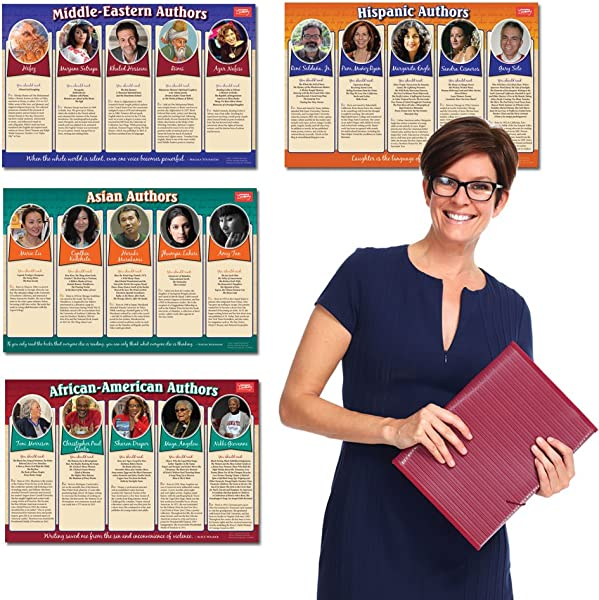 Author Diversity Poster Set