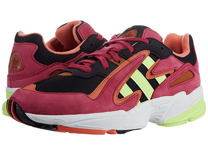 adidas Originals  Yung-96 Chasm (Core Black/Hi-Res YellowithEnergy Pink F17) Mens Shoes