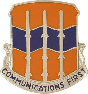 16th Signal Battalion Unit Crest (Communications First)