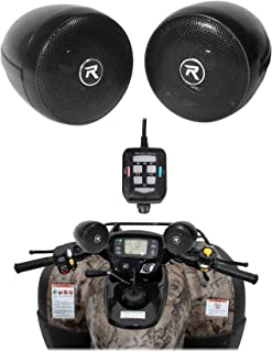 Rockville Bluetooth ATV Audio System w/Handlebar Speakers For Can-Am Renegade